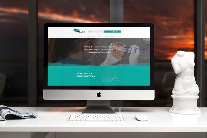 SCHI web design